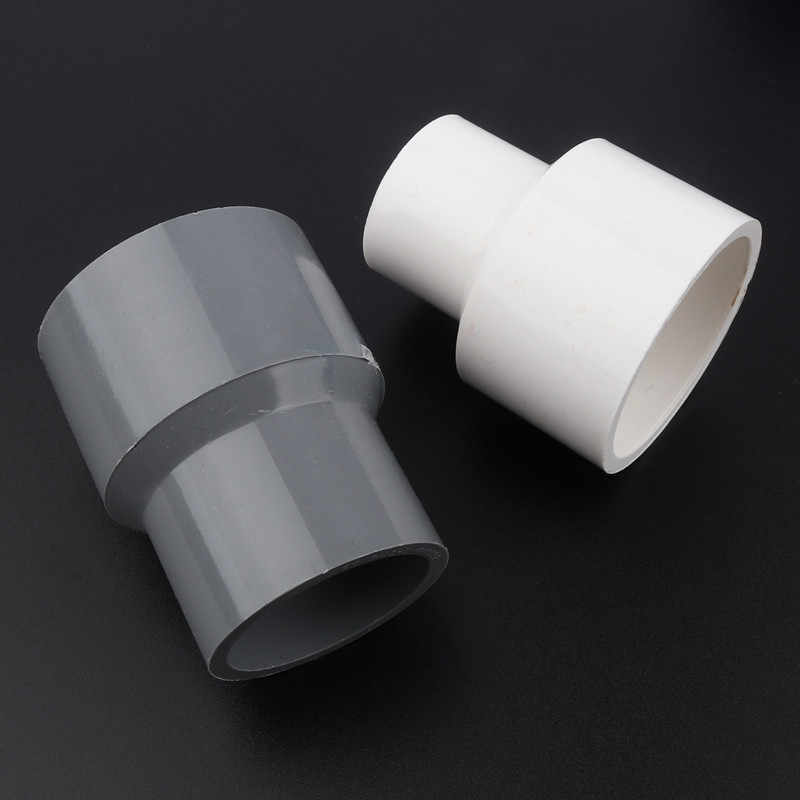 Color : 63 32mm, Diameter : White 1pc ID 63mm To 20~50mm PVC Reducing Straight Joints Agricultural Irrigation Garden Water Connectors Aquarium Fish Tank DIY Tools