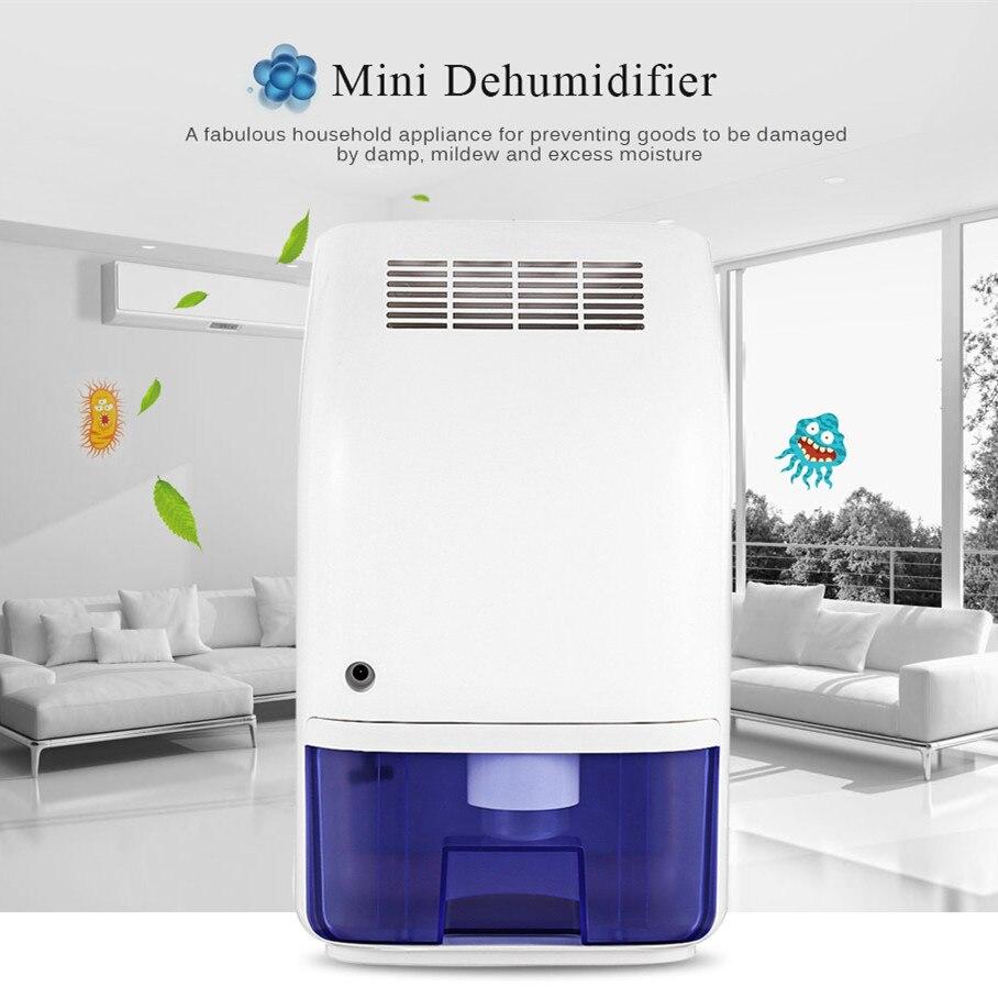 Invitop T8 700ml Home Air Dehumidifier Semiconductor Desiccant Moisture Absorber Car Mini Air Dryer Electric Cooling Machine home appliance