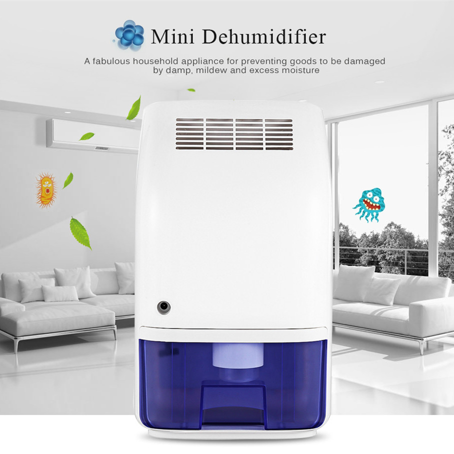 Invitop T8 700ml Home Air Dehumidifier Semiconductor Desiccant Moisture Absorber Car Mini Air Dryer Electric Cooling Machine