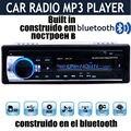 Nova 12 V Do Carro FM Estéreo Rádio do carro do bluetooth MP3 Player De Áudio Telefone Bluetooth suporte USB/SD MMC Porta RÁDIO Do Carro Em Traço 1 DIN