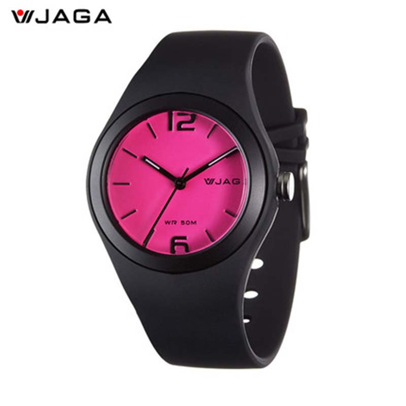 JAGA New Design Girl Digital Watch Fashion Casual Water Resistant Dameshorloges Vrouwelijk Schoolhorloge Polshorloge AQ911