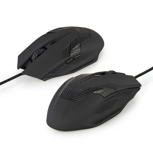 GTFS-2000DPI Wired Optical Ergonomic 6 Buttons Scroll Wheel Gaming Laptop Mouse Mice