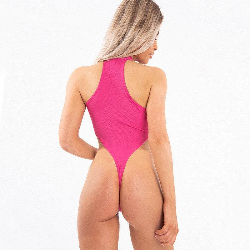 Ribber Bodysuit Female11