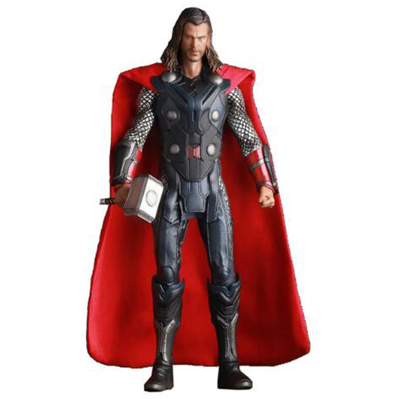 Crazy Toys Marvel Avengers 3 Infinity War Thor PVC Figure Collectible Model Toy 30cm