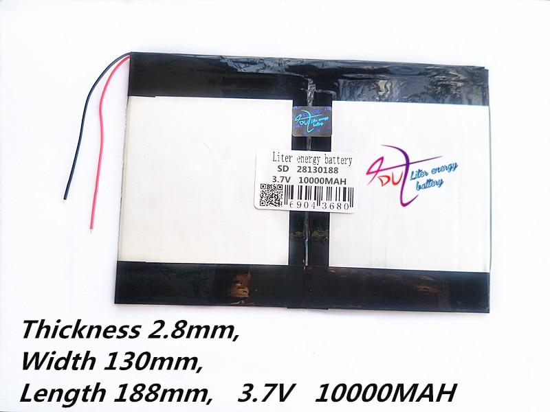Tablet PC Talk9x U65gt,battery 28130188 3.7V 10000mah Li - Ion Battery General Battery For Tablet Computer