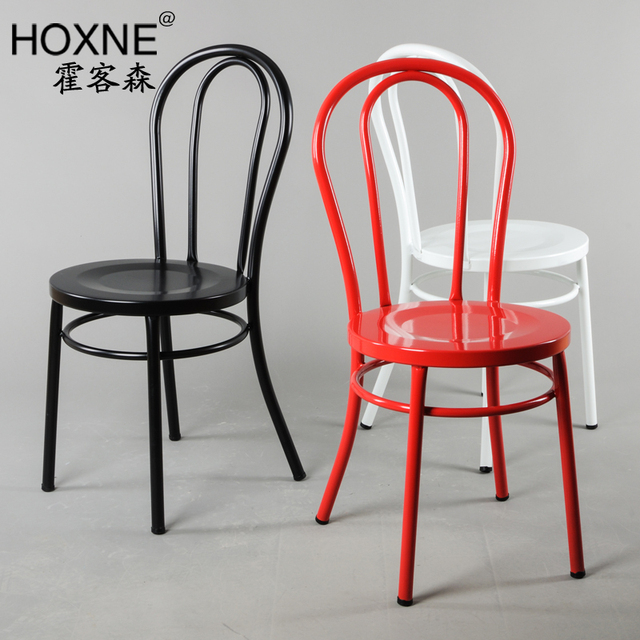 industrial metal chairs diy chair covers for a wedding vienna dining hall passenger sen steel u back