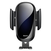 Baseus luxury glass Car Phone Holder For iPhone X XS Max XR Samsung S9 S8 Gravity Metal Air Vent Mount GPS in