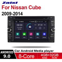 ZaiXi For Nissan Cube 2009~2014 2 DIN Car Android 9 GPS Naviation Multimedia system Bluetooth Radio Amplifier WiFI Bluetooth HD