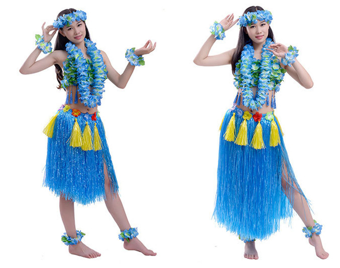 High Quality GiveU New 2018 Adult Hawaiian Grass Skirts Event U0026 Party Woman Dress Hawaii  Costume Summer Set8 Luau Party Skirt Ladies Skirts  In Party DIY  Decorations ...