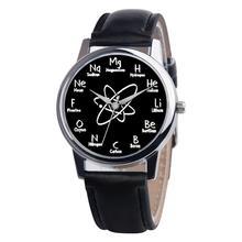 JINEN новые модные Для женщин кожаный ремешок часы Повседневное аналоговые кварцевые часы Бизнес элегантный круглый Форма наручные часы