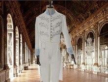 New Cinderella Movie Cosplay Costume Custom-made Prince Charming Costume Cinderella Prince Costume Free Shipping