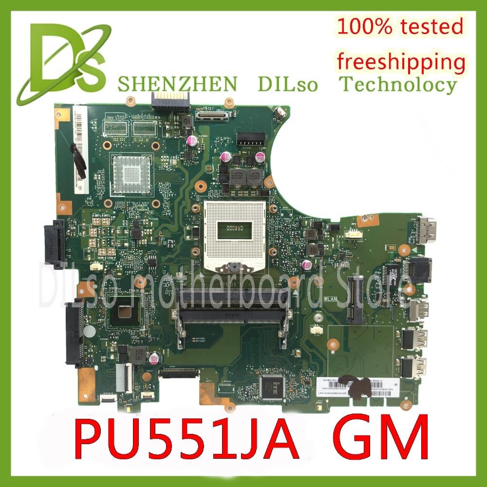 KEFU PU551JA For ASUS PU551 PU551J PU551JA mainboard HM86 laptop motherboard REV2.0 Test work 100% цена и фото