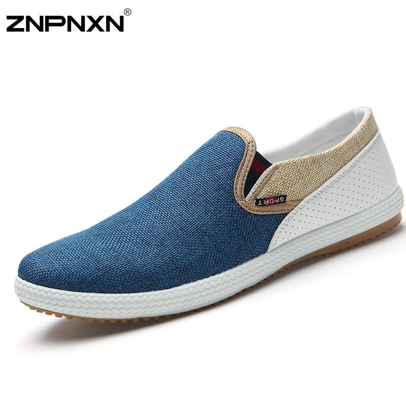 6 Colores de Los Hombres 2015 Zapatos de Los Planos Alpargatas de Lona Para Hombre Slip