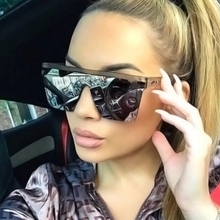Sunglasses Retro Fashion Trend Elephant Gray Personality Big