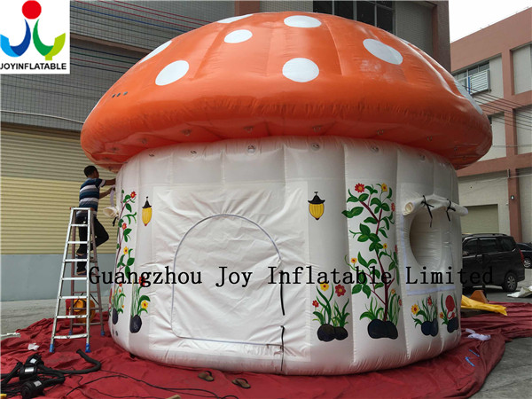Mushroom Tent & PVC Inflatable Mushroom Dome Tent C&ing ...