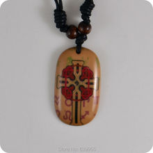 Christian Jewelry CrossNecklace Amulet Lucky Gift Tribal Fashion Jewelry