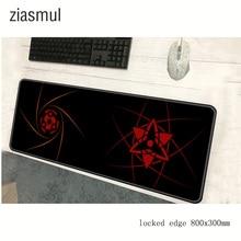 Naruto padmouse 800x300x2mm pad to mouse notbook computer mousepad Sharingan gam