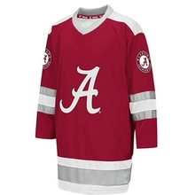 cb7cac94e Rare Vintage Alabama Crimson Tide Hockey Jersey Embroidery Stitched  Customize any number and name Jerseys(