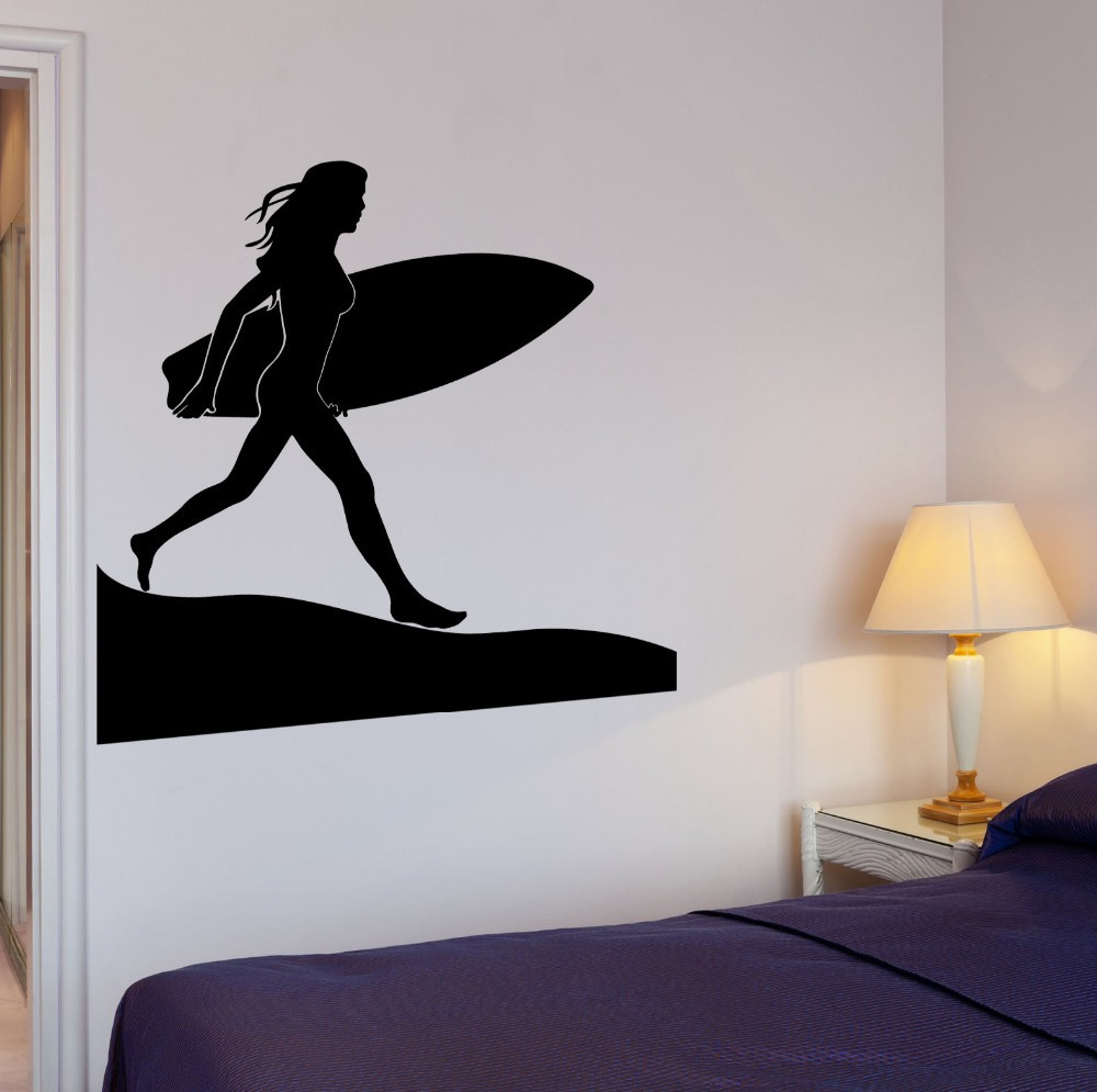 surf wall decals www galleryhip com the hippest pics surfboard wall decals stickers