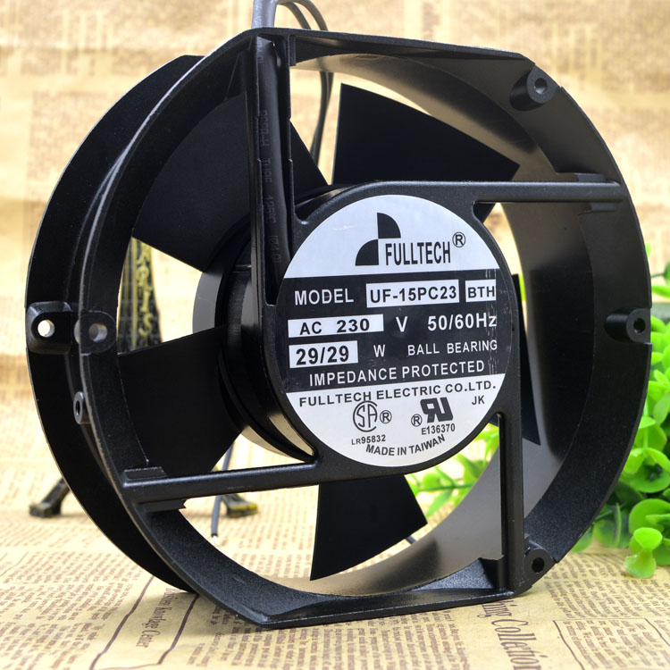 FULLTECH UF 15PC23BTH 230V 29W 17CM 17050 cooling fan