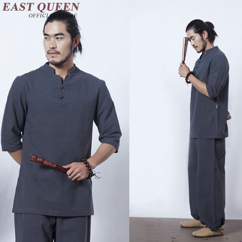 Bruce uniform zen clothing oriental mens clothing mens chinese clothing KK1688 H-in Sets from Novelty & Special Use    1