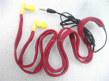 Linhuipad Washable In-ear Earphone Drawcord MP3 Earbud / clothes earphones hoodie built-in