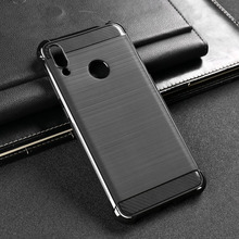Ojeleye Soft Case For Huawei Y7 2019 Cover Prime 6.26 inch Coque Silicone Drawing TPU Housings