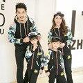 Семья одежда соответствия мать и дочь одежда отец и сын одежда семья установить семья стиль комплектов одежды, Pri76