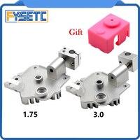 Titan Aero и V6 Aero радиатор 1 75 мм или 3 0 мм  улучшенный титановый экструдер V6 Hotend радиатор для Prusa i3  детали для 3D-принтера