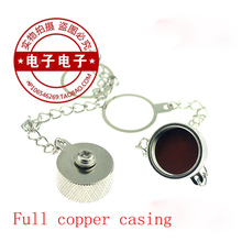 4pcs/lot All-copper N-head protection cover Metal dust-proof cap N-type female head with hanging chain N-K-FC
