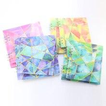 Domikee kreative platz schule blank weiß spirale sketch schreibwaren, feine student dicke leere zeichnung papier notebooks, große