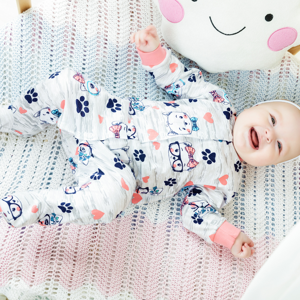 Rompers Veselyy malysh 51172-one-Umnitsa baby clothing overalls for children girls and boys