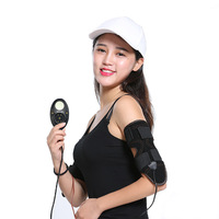 Electric EMS Arm Slimming Belt Smart Rechargeable Calf Arm Fitness Massager Fat Loss Thin Tens Intensive Massage Machine