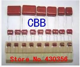 Free Shipping 10pcs, CBB 103J  400V  0.01UF 10NF P10mm  Metallized Film Capacitor