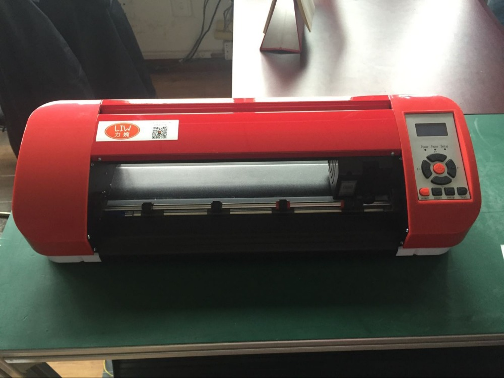 a3 a4 High cutting precision ARMS vinyl cutting equipment with software 380mm