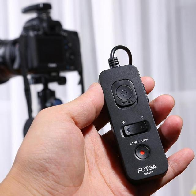 Universal FOTGA RM VS1 Remote Control Shutter Release Timer For SONY A7 A7R RX10 ILCE 7 Cameras As RM VPR1