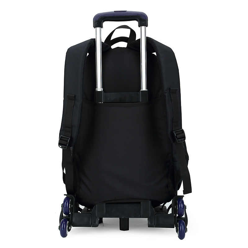 2ab7e4389d79 ... ZIRANYU Latest Removable Children School Bags 2 6 Wheels Stairs Kids  boys girls backpacks Trolley ...