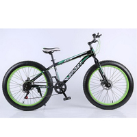 Al40903 Snowmobile 4 0 Super Wide Tires Mountain Bike Disc Brake Speed Men And Women Cycling