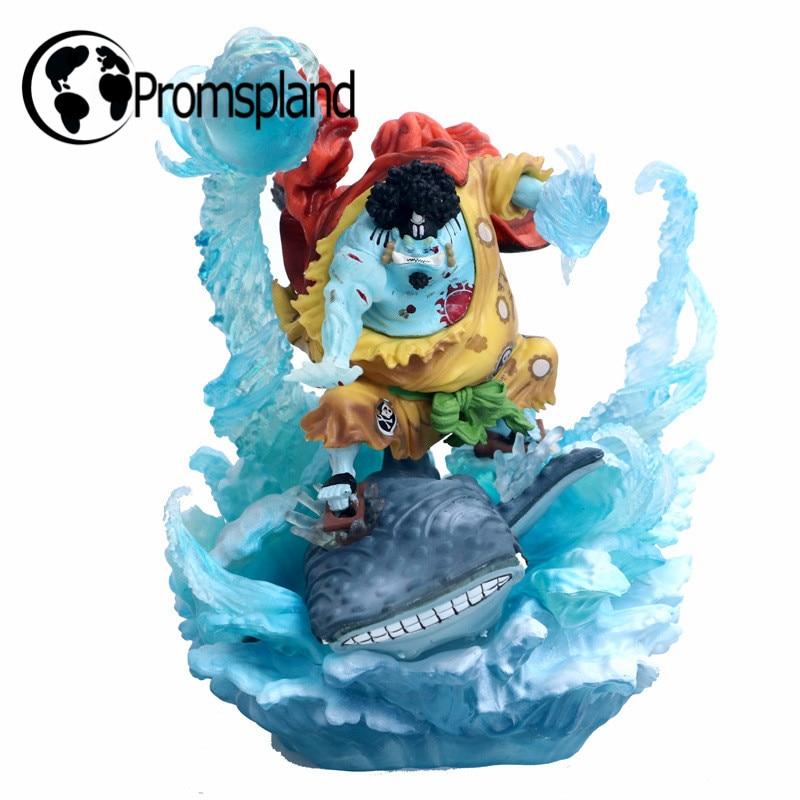 1 pc une pièce Jinbe 21 cm figurines poupées modèles Collection jouets pour enfants le chapeau de paille Pirates maison bureau décoration