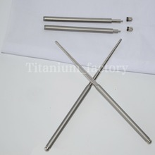 Outdoor tableware solid Foldable Titanium chopsticks camping picnic hiking titanium chopsticks 1 pair