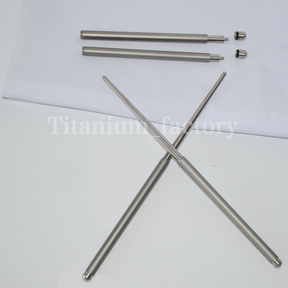Outdoor tableware solid Foldable Titanium <font><b>chopsticks</b></font> camping picnic hiking titanium <font><b>chopsticks</b></font> 1 pair image