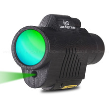 Professional Monocular Zoom Vision 8x32 Focusing Telescope High-power HD Laser Night Monocle Hunting Spyglass view
