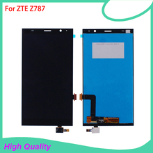 6'' LCD Display Touch Screen Digitizer Assembly Replacement For ZTE Grand X Max+ Plus Z787 High Quality Mobile Phone LCDs for zte grand x max z987 lcd replacement lcd display touch screen digitizer frame complete assembly parts 987 plus tools
