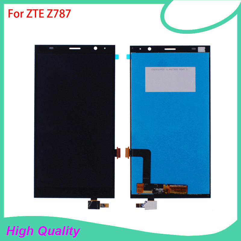 6'' LCD Display Touch Screen Digitizer Assembly Replacement For ZTE Grand X Max+ Plus Z787 High Quality Mobile Phone LCDs
