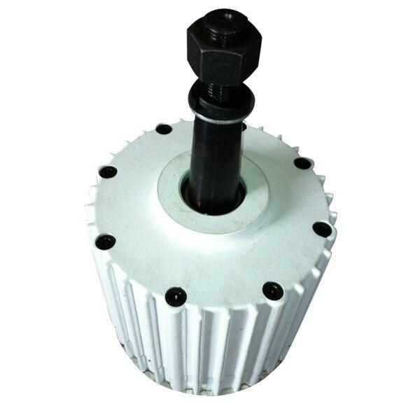 PMG 2KW 96 v AC générateur à aimant Permanent sans brosse PMA