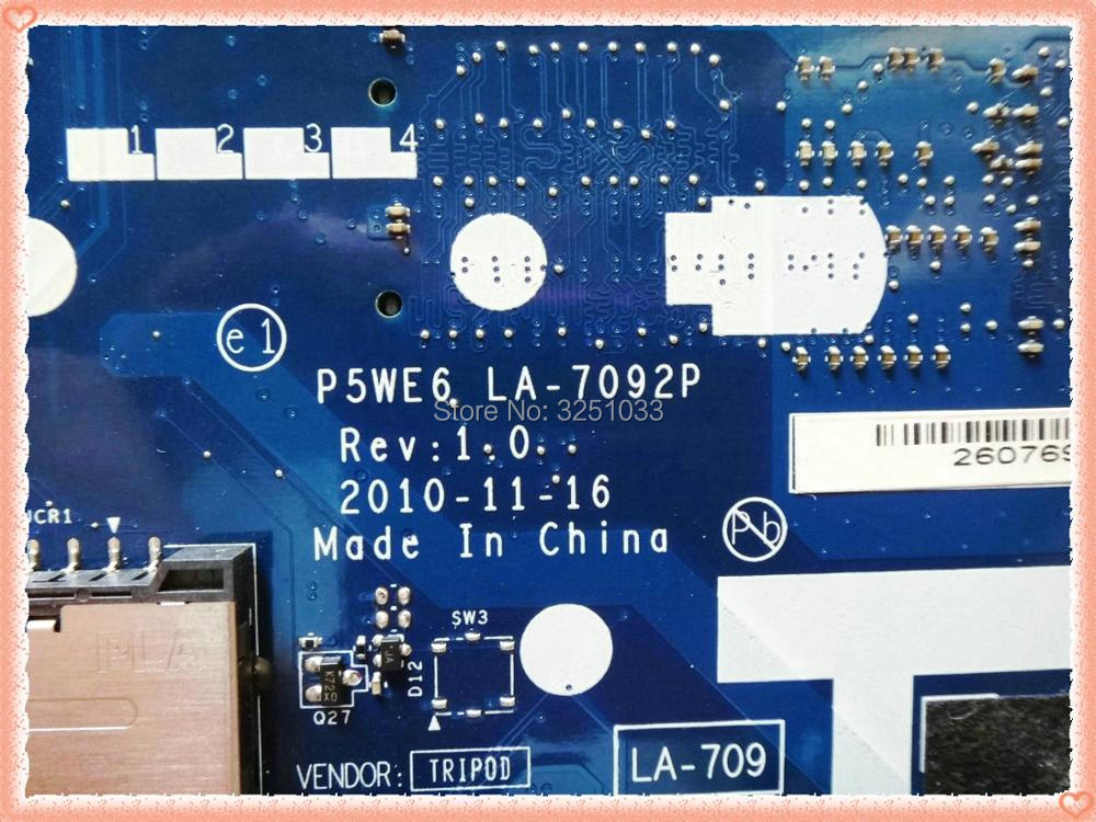 Image 3 - LA 7092P for Acer 5253 5250 NOTEBOOK P5WE6 LA 7092P for Acer Aspire 5253 5250 Laptop Motherboard MBNCV02001 test 100% work-in Laptop Motherboard from Computer & Office on