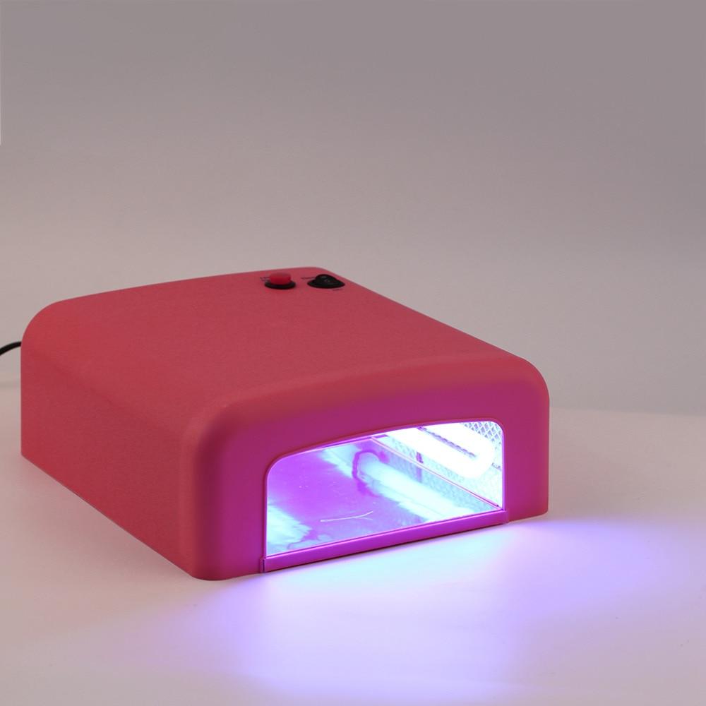 1set Professional 36w EU Plug UV Lamp 220v Gel Curing Nail Art Light ...