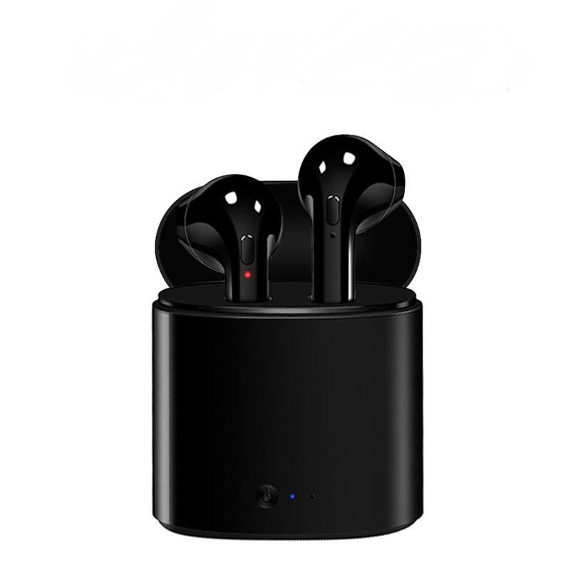 I7 i7s TWS Draadloze Bluetooth Koptelefoon In-Ear Muziek Oordopjes Set Stereo Headset voor iphone X 6 7 Samsung 8 Xiaomi opladen Doos