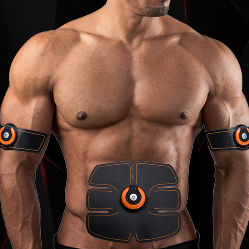 Smart Abdominal Muscle Trainer Sticker Body Sculpting Massage Lose Weight Stimulator Pad Fitness Gym Arm Sports Sticker