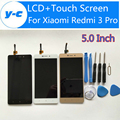 For Xiaomi Redmi 3 Pro LCD Display+Touch Screen New Arrived Panel Replacement For Xiaomi Redmi 3 Prime 1280X720 HD 5.0inch